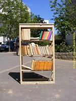 Les livres sont partout dans les Francs-Moisins