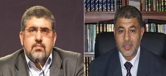Ahmad Jaballah (à dr.) succède à Fouad Alaoui à la présidence de l'UOIF.