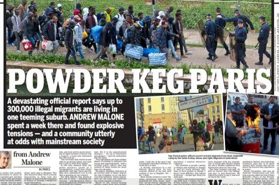 Le Daily Mail sommé de corriger un article mensonger sur Saint-Denis