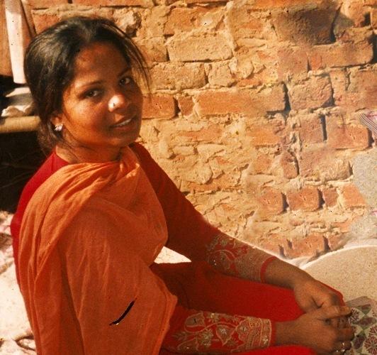 Asia Bibi, condamnée à mort au Pakistan pour blasphème.