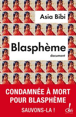 La couverture du livre « Blasphème ».