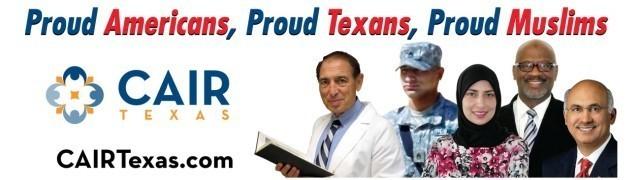 Une des affiches vedettes de la nouvelle campagne du CAIR au Texas afin de redorer l'image des musulmans.