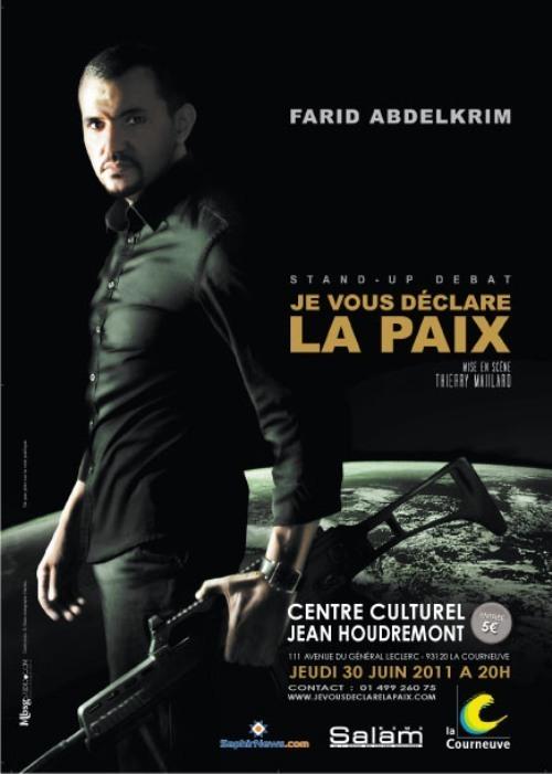 Farid Abdelkrim : « Je suis un chatouilleur de conscience »