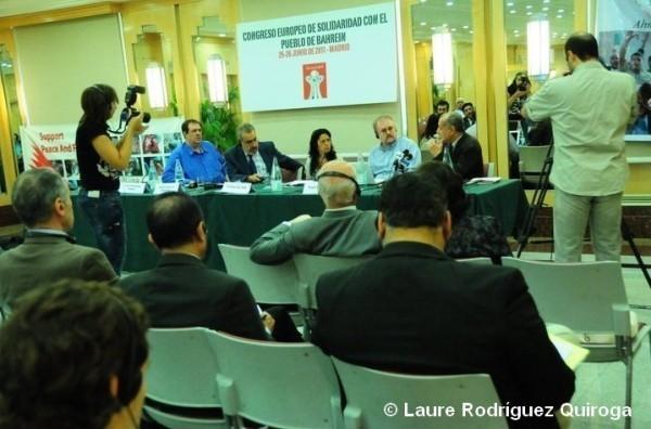 A l'initiative de la Junta Islamica et de La paix maintenant, le Congrès européen de solidarité avec le peuple du Bahreïn s'est tenu les 25 et 26 juin dans la capitale espagnole.