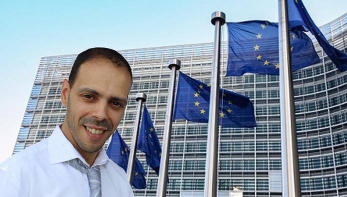 L'Union des démocrates musulmans de France (UDMF), présidée par Nagib Azergui ici à l'image, se présente aux élections européennes prévues en France le 26 mai 2019.