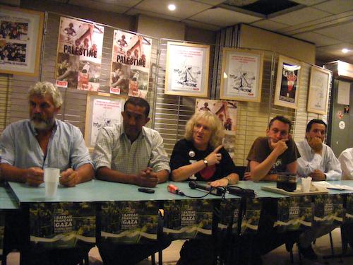 Jo Leguen (marin), Oumayya Naoufel (militant tunisien), Claude Léostic, Thomas Sommer-Haudeville, Yamin Makri (militant).