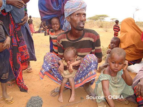 Catastrophe humanitaire en Somalie