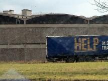 Camion de livraison, Fleury Mérogis (91)