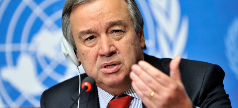 Antonio Guterres (ONU) dénonce les discours de haine envers les musulmans