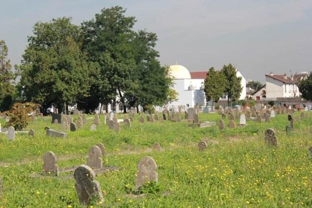 Vue du cimetière musulman de Bobigny  © Vincent Chartier