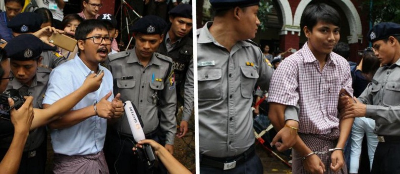 Rohingyas en Birmanie : les deux journalistes de Reuters enfin libres
