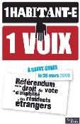 Affiche de la campagne pour le référendum