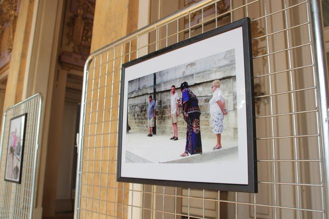 L'exposition Belka dans le hall de la mairie du 18e, jusqu'au 28 octobre.