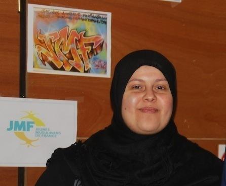 Safiya Meziani, présidente des JMF Lille.