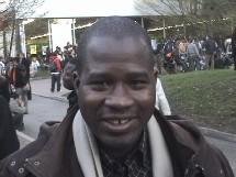 Abbass, 28 ans, étudiant en doctorat de droit à Limoges et président de l'EMF Limoges.
