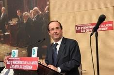 François Holande a conclu ces secondes rencontres de la laïcité.