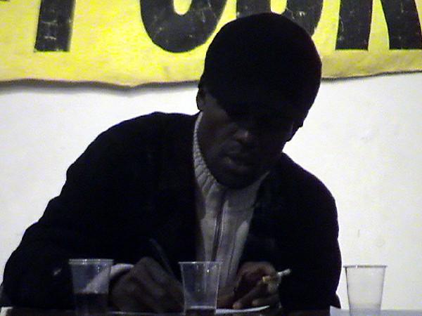 Pierre Didier, Militant de l'association Agora, Vaulx-en-Velin