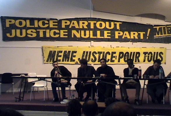 De gauche à droite : Samir, Tarek, Abdennour, Pierre Didier et Mognis