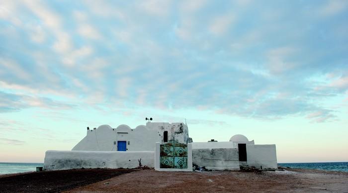 Une mosquée ibadite de Djerba. © Axel Derriks
