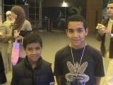 Yacer et son petit frère Zakaria