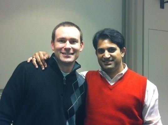 Matthew Fieldman et Asher Hasan, deux entrepreneurs sociaux vivant aux Etats-Unis.