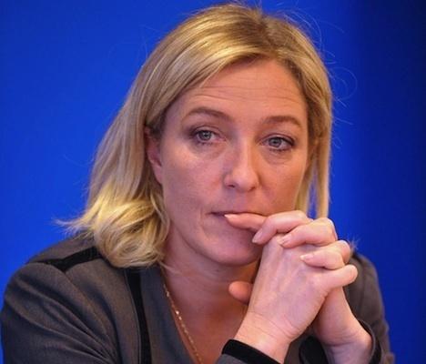 Marine Le Pen, présidente du FN.