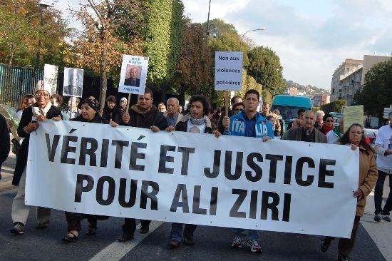 Un rassemblement du collectif Justice & Vérité pour Ali Ziri se tient samedi 14 janvier à Argenteuil.