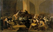 L'inquisition, par Goya