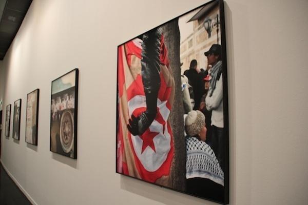 """Photos de Jellel Gastelli à """"Dégagements""""."""