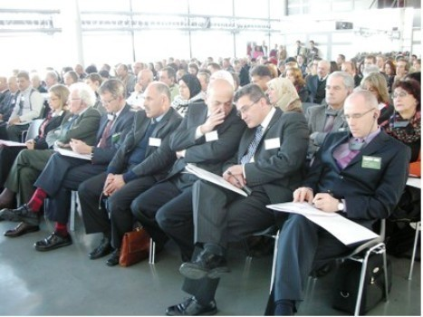 Les 3e Assises de la coopération décentralisée franco-palestinienne se déroulent à Hébron les 23 et 24 janvier. Ici, à Paris, lors des Assises de 2007.