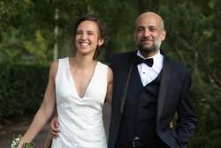 Ramy Shaath, ici avec son épouse Céline Lebrun Shaath.