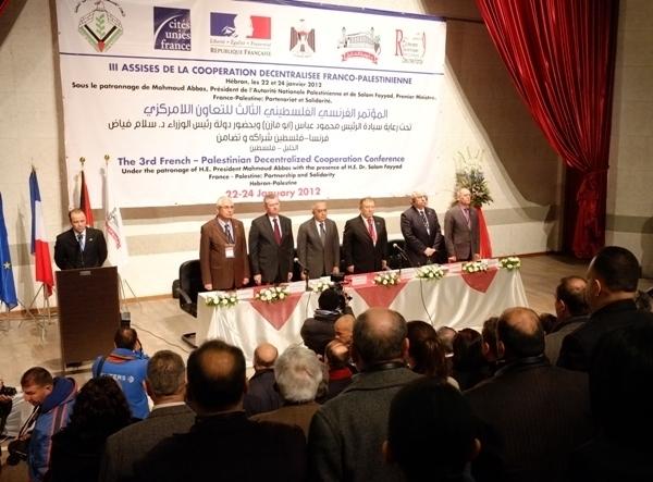 Les troisièmes Assises de la coopération décentralisée franco-palestinienne se sont tenues les 23 et 24 janvier à Hébron, en Cisjordanie.