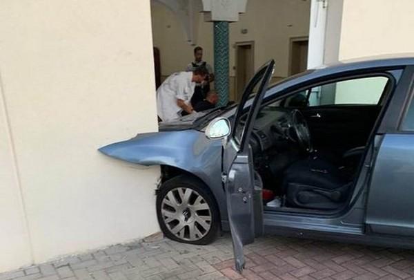 Un automobiliste fonce sur la mosquée de Colmar, sans faire de blessé