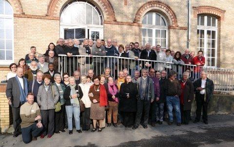 Les délégués diocésains en charge des relations avec l'islam, réunis lors de leur session nationale, les 27, 28 et 29 janvier 2012.