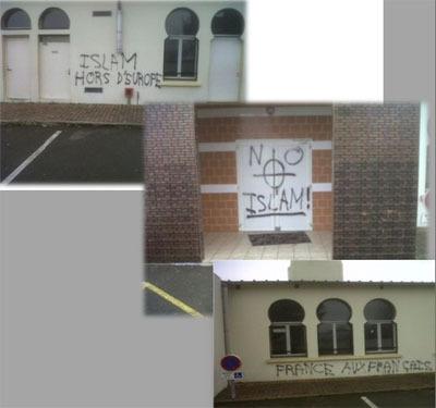 Ma petite mosquée profanée. Et une de plus… !