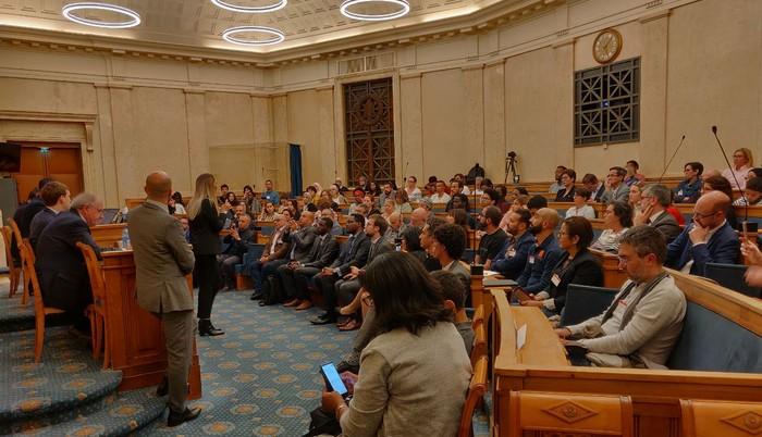 « Quel avenir pour la laïcité en France ? » C'est le thème de la conférence organisée jeudi 25 septembre, à l'Assemblée Nationale, par le mouvement Emancipation des Territoires et Inclusion Collective (ETIC). © Patrice Anato/Twitter