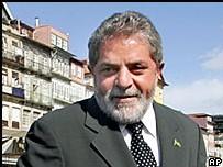 Le président brésilien Luiz Inacio Lula da Silva