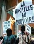 Canada: manifestation de soutien aux émeutiers français de novembre 2005