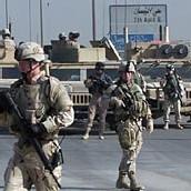 Troupes américaines en Irak