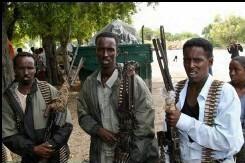 Miliciens de l'union des tribunaux islamiques