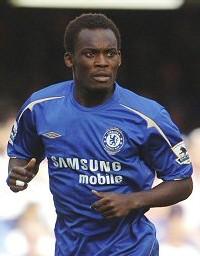 La principale star de l'équipe : Michael Essien