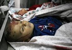 Victimes de l'obus israélien sur une plage de Gaza (9 juin 2006)