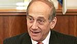 Ehoud Olmert, Premier ministre israélien