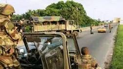 Patrouille Française à Abidjan