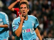 Franck Ribéry sous le maillot marseillais. Il est annoncé à Lyon pour la saison prochaine