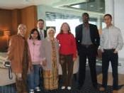 Membres de Halal MUY et de l'Instituto Halal réunis