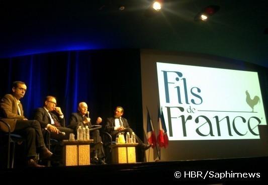 Le club de réflexion Fils de France a été lancé vendredi 9 mars par Camel Bechikh en présence de Robert Ménard, de Ghaleb Bencheikh, du Père Michel Lelong et de Tareq Oubrou (de g. à dr.).