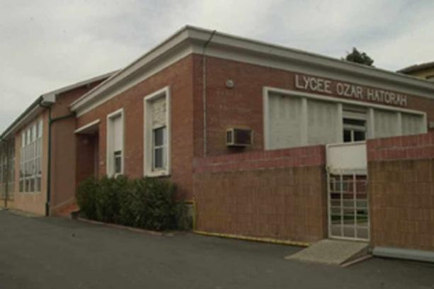 L'école Ozar Hatorah de Toulouse dans laquelle le drame a eu lieu.