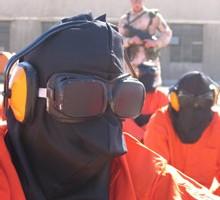 Uniforme porté par les prisonniers de Guantanamo