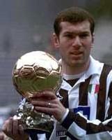 Avec le ballon d'or à La Juventus